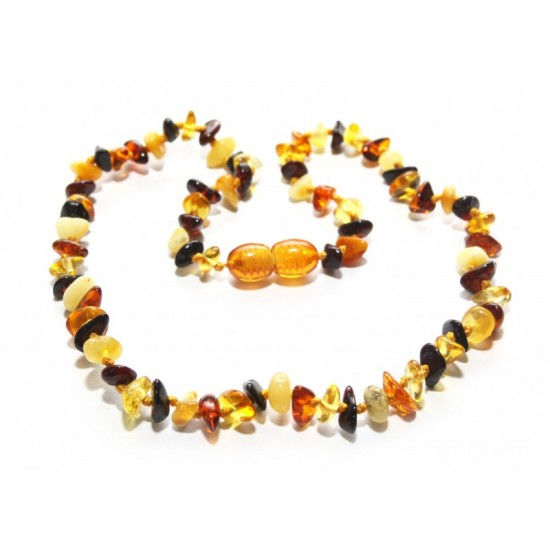 baltic-amber-baby-teething-necklace- NR1
